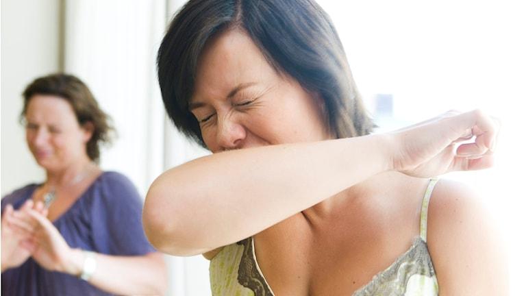 شمار هرچه بیشتری در سوئد به بیماری آنفولانزا مبتلا میشوند   Foto: Berit Roald / SCANPIX NORGE /TT