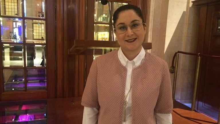 آزاده رجحان، نماینده حزب سوسیال دموکرات در پارلمان