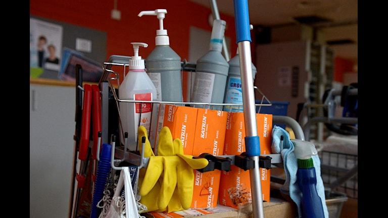 نظافتچی از شغل های رایج برای متولدان خارج از سوئد