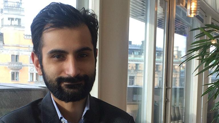 حنیف بالی، نماینده حزب مودرات در پارلمان سوئد