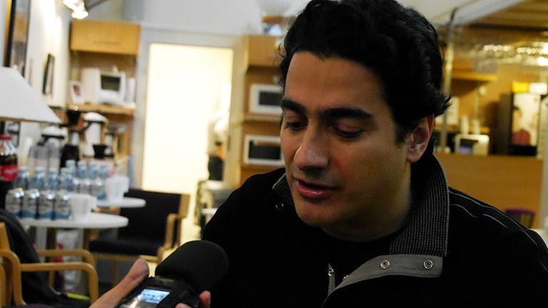 Homayoun Shajarian. Photo: Nasser Sina / Sveriges Radio