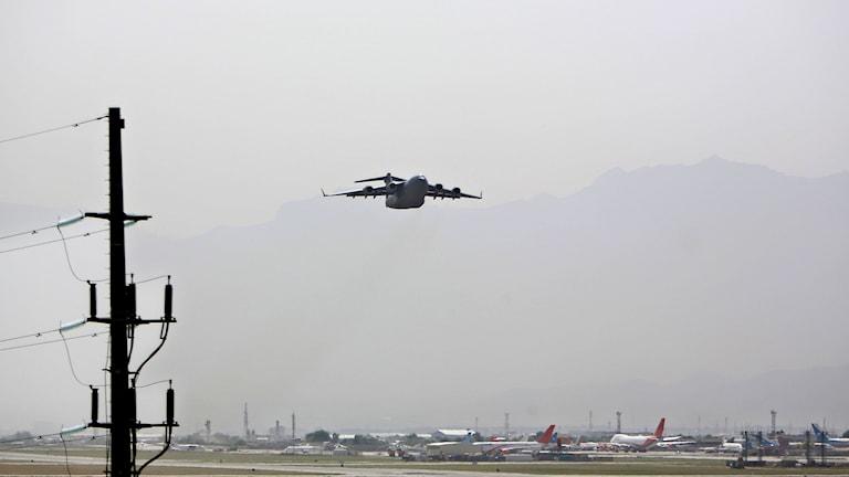 میدانهوایی (فرودگاه) حامد کرزی، کابل. عکس بایگانی