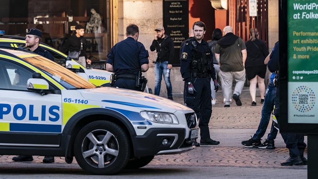 تیراندازی در بزرگ شهرهای سویدن افزایش یافته است.