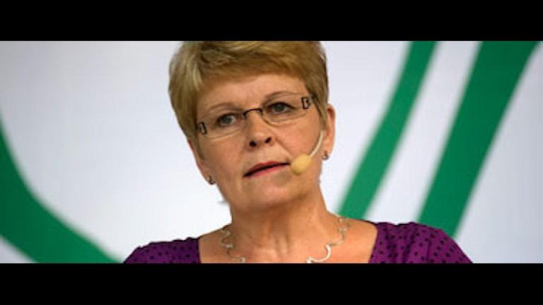 Maud Olofsson anser att oppositionen stänger dörrar. Foto: Leif R Jansson/Scanpix