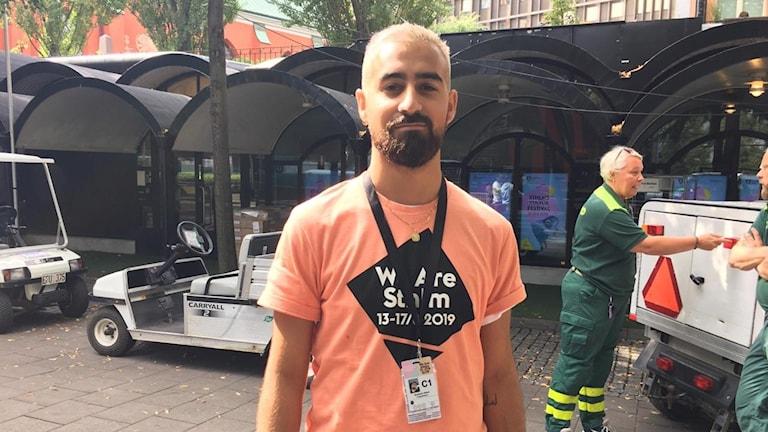 Stockholm Kulturfestivalen We are Stockholm Projektledare Benjamin Akbari