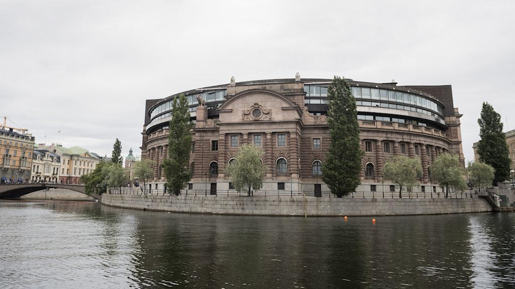 ساختمان پارلمان سوئد