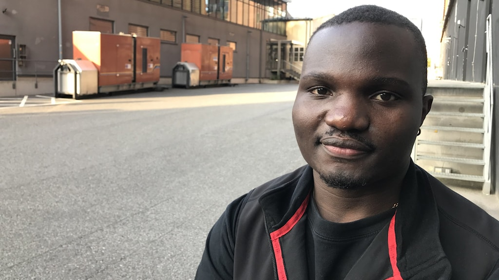 Abubakar Kateregga har sökt många praktikplatser utan att få napp. Foto: Anders Jelmin/Sveriges Radio