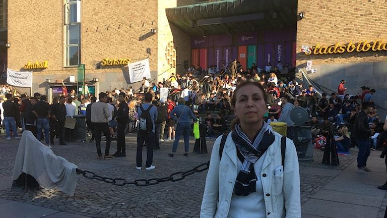 Sara Nakhaee, Iranska flyktingsrådet i Stockholm