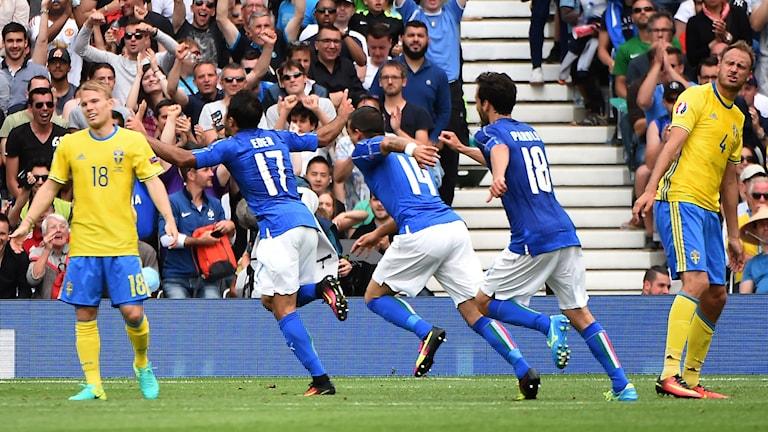 Sverige vs Italia