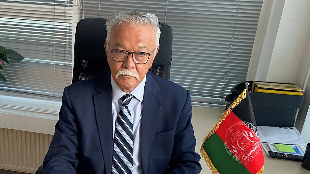 عباس نویان، سفیر حکومت پیشین افغانستان در سویدن.