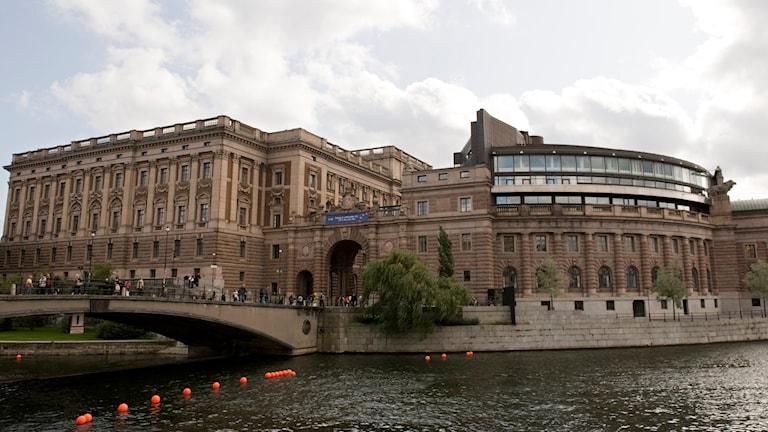 ساختمان پارلمان سویدن.
