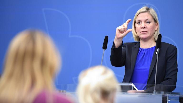 ماگدالنا آندرسون، وزیر اقتصاد