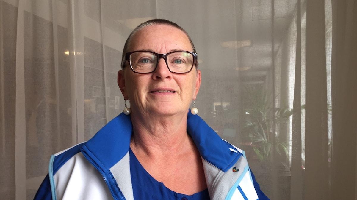 Karin Blomstrand (L), gruppledare och ordförande för Liberalerna i Munkedal.