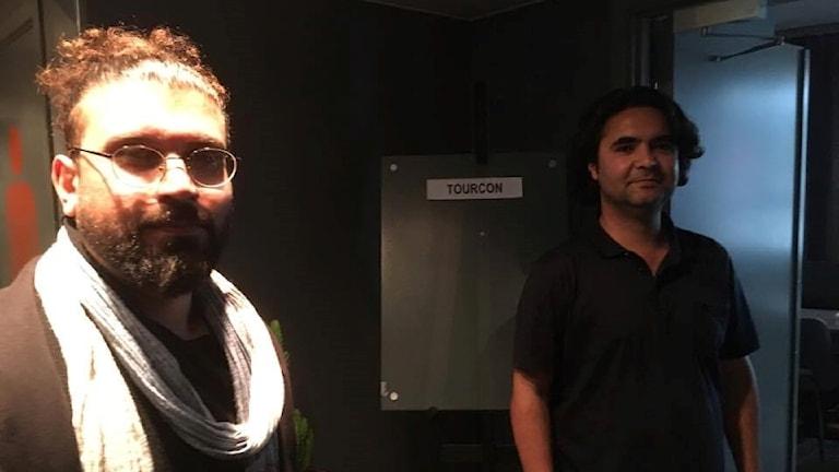 Shakib Mosadeq och Masoud Hasanzada