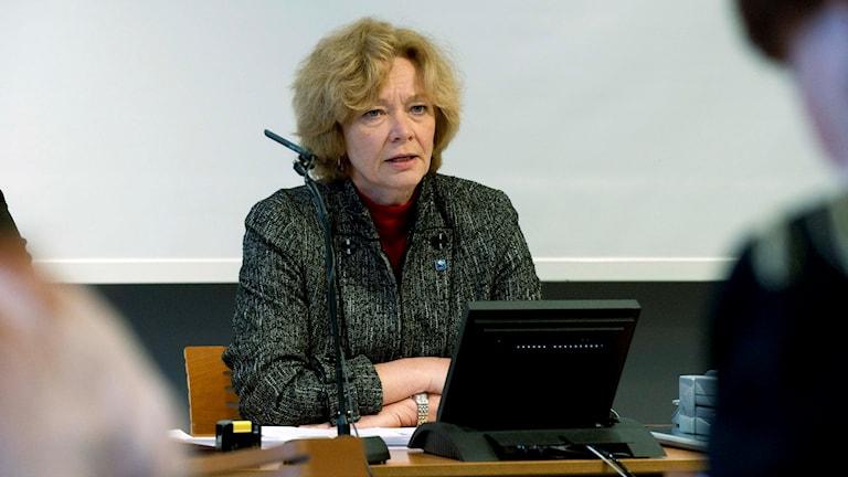 ماریا لیسنر سفیر پیشین سوئد در گواتمالا