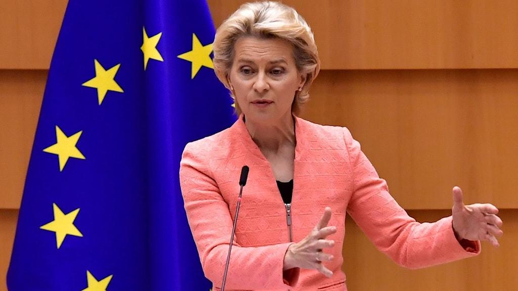 رئیس کمیسیون اتحادیه اروپا، اروسولا وندر لین