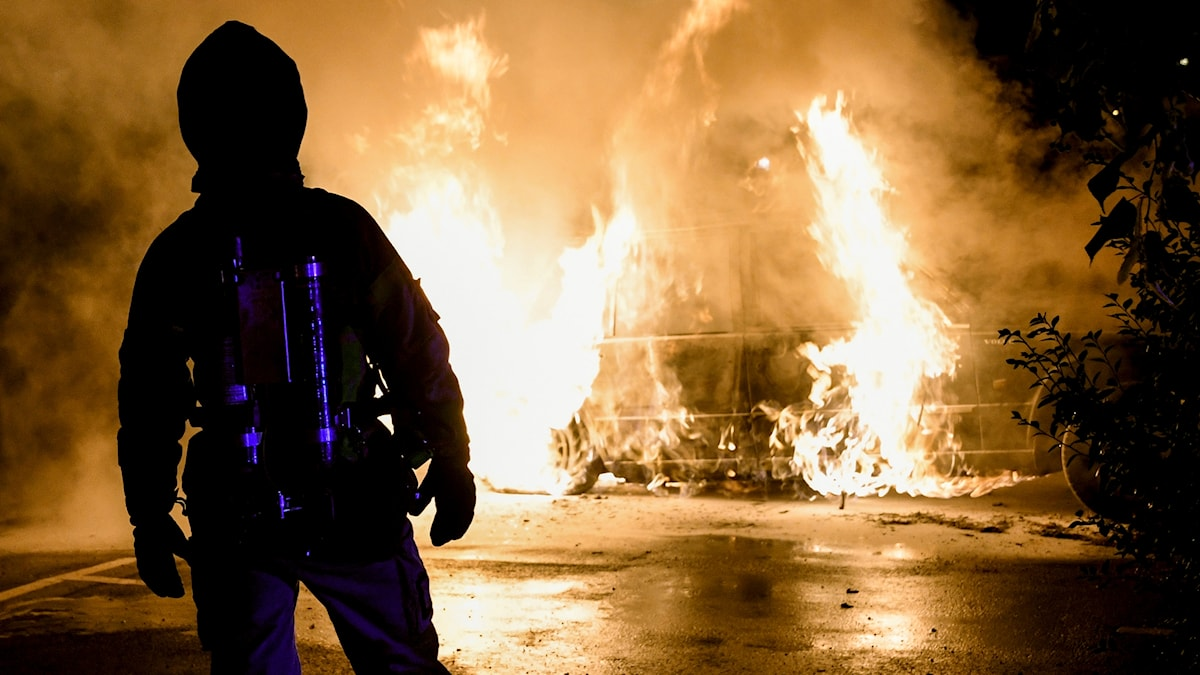 bilbränder i malmö
