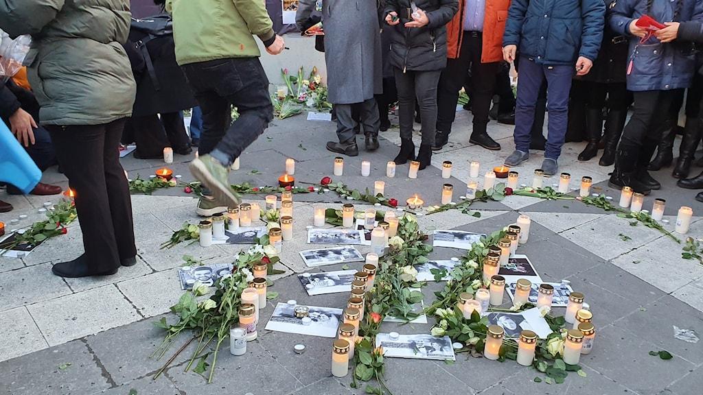 تظاهرات در استکهلم