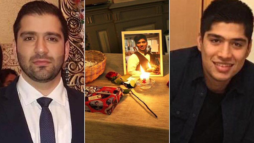 عکس سمت راست، شهرام تاجیک و عکس سمت چپ محمد تاجیک