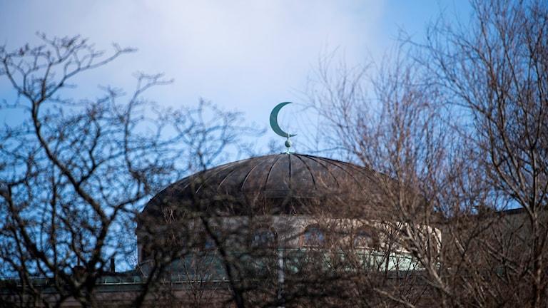 المسجد الكبير في ستوكهولم.