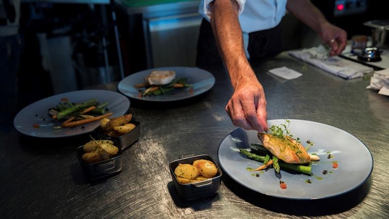 المطاعم توظف أكبر نسبة من المهاجرين.