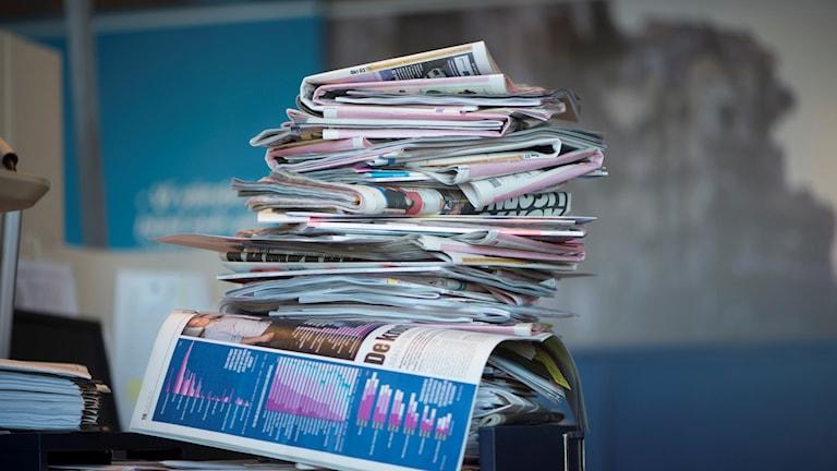 صحف سويدية.