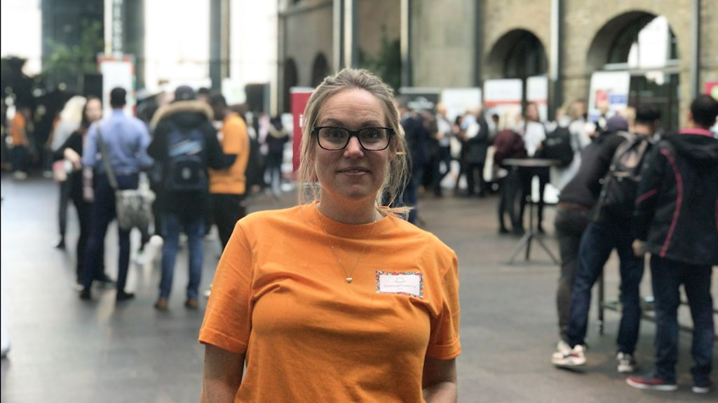 """هيلينا ليندهولم، مديرة مشروع """"Opportunity Day"""""""