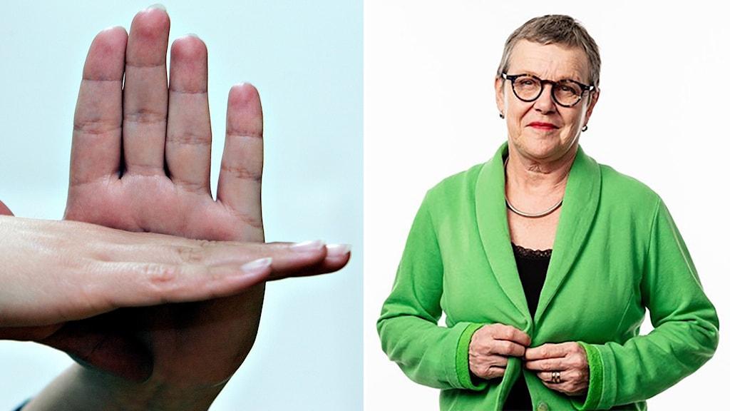 Elle-Kari Höjeberg, Utbudsansvarig för tillgänglighetsfrågor.