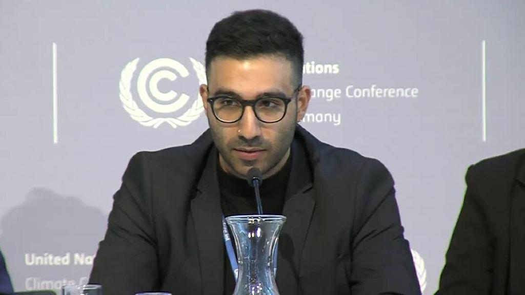 خبير المناخ أحمد القاسم