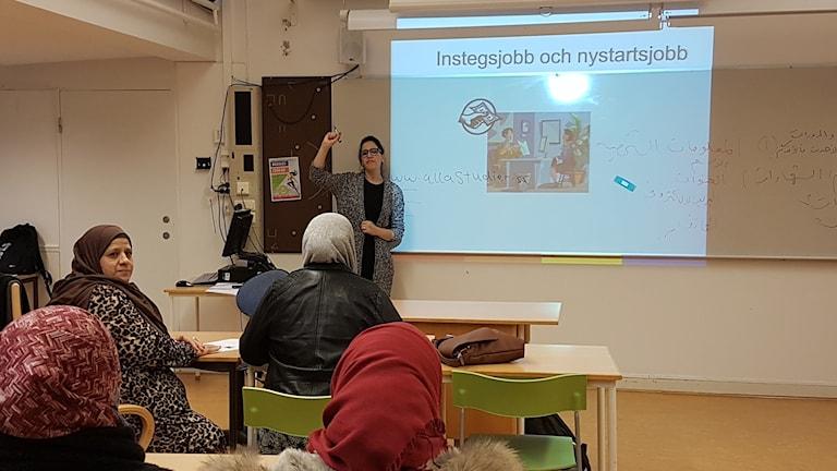 جانب من محاضرة حول الصحة والمجتمع صورة: مصطفى قاعود