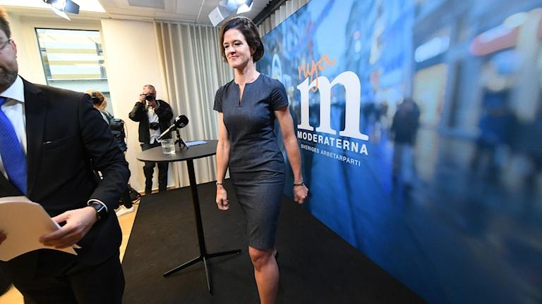 الرئيسة السابقة لحزب المحافظين آنا شينبري باترا