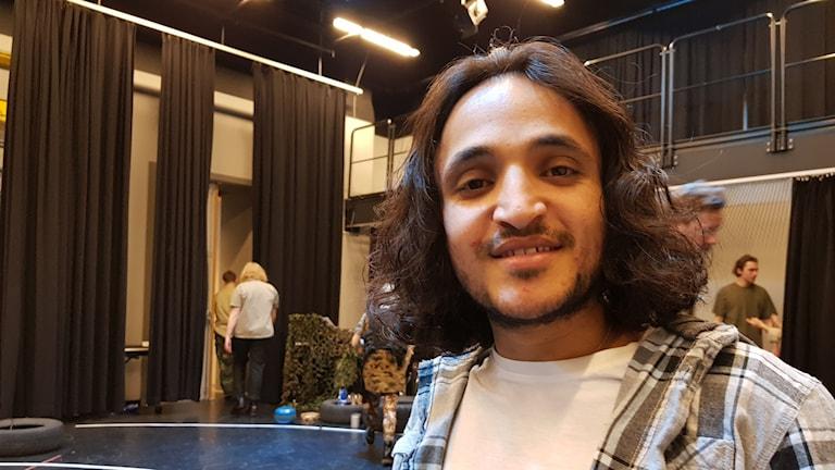 الممثل المسرحي عبد الجبار السهيلي.