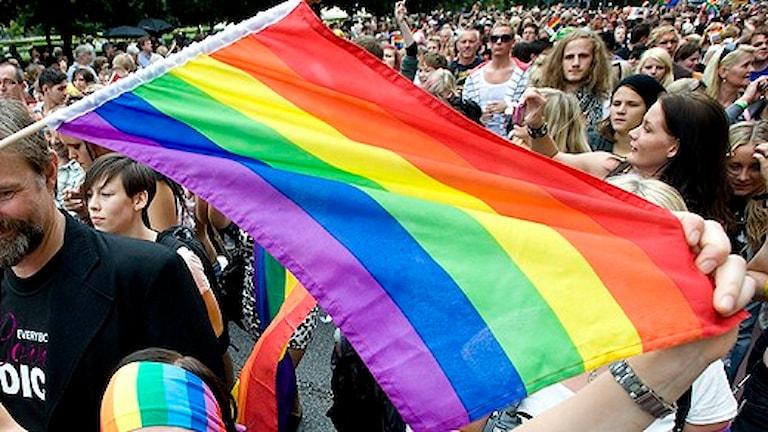 شعار مهرجان برايد ألوان قوس قزح. الصورة لغونار لوندمارك/سكانبيكسِ