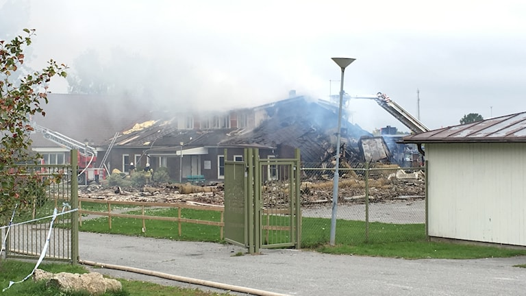 Branden i moskén i Vivalla