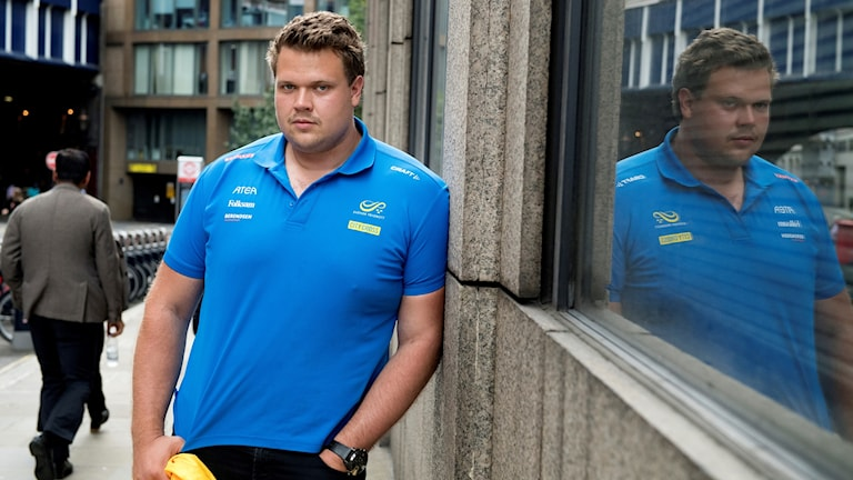 Diskuskastaren Daniel Ståhl