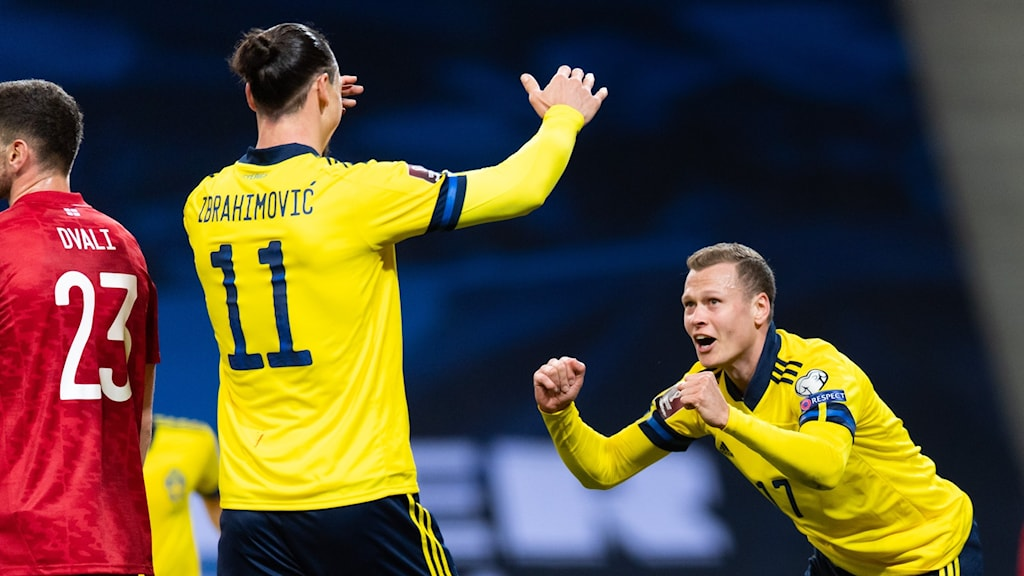 Sverige firar.