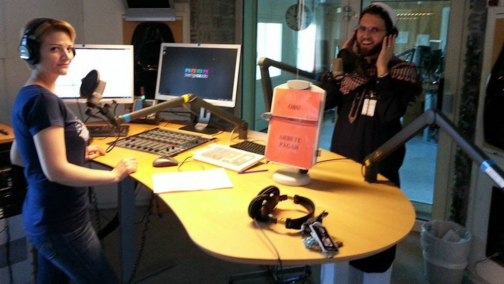Ludovic Mohammad Zaher PRIDE 2014 Photo Sveriges Radio