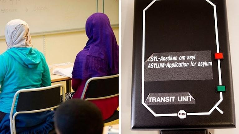 اللاجئون الاطفال ينتظرون وقتا طويلا للبت بطلبات لجوئهم، عدسة: وكالة الانباء السويدية ت ت