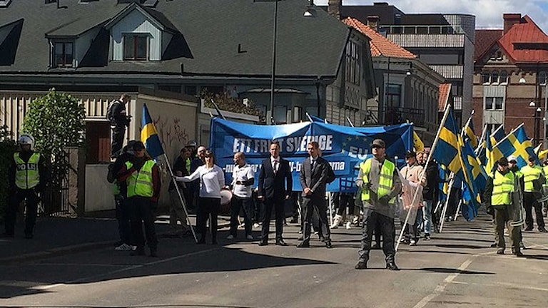 صورة من الأرشيف لتظاهرات أحد الأحزاب النازية