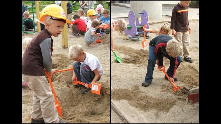 اتفاقية حقوق الطفل هي مجموعة من القواعد التي تخص حقوق الأطفال. صورة: رالكا دينتيكا/ إذاعة السويد كريستيناستاد.