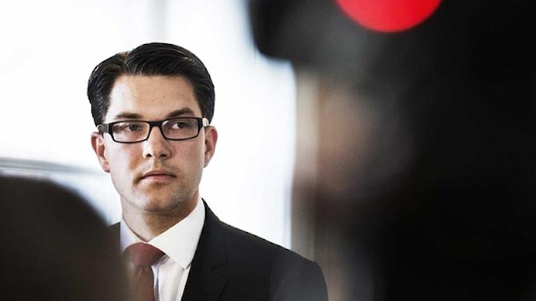 ييمي أوكسون. صورة: وكالة الأنباء السويدية.