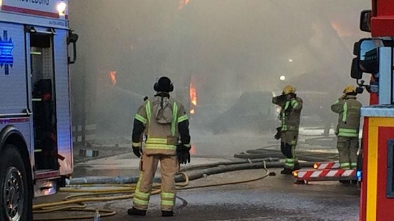 Storbrand i Göteborg