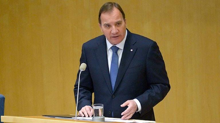 رئيس الوزراء السويدي ستيفان لوفين
