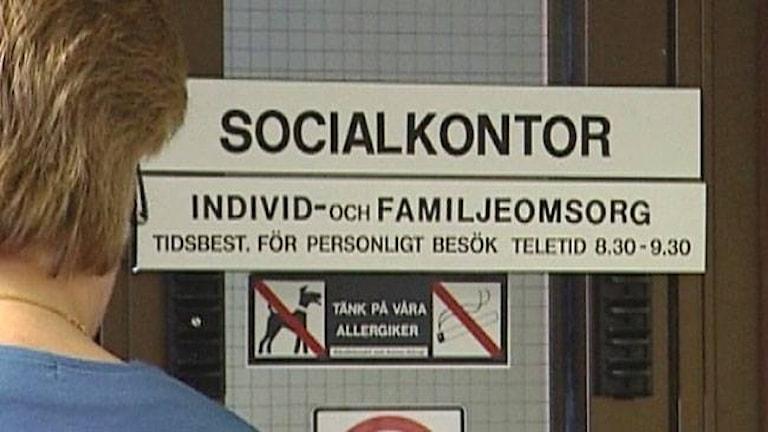 Socialkontor Foto: SVT