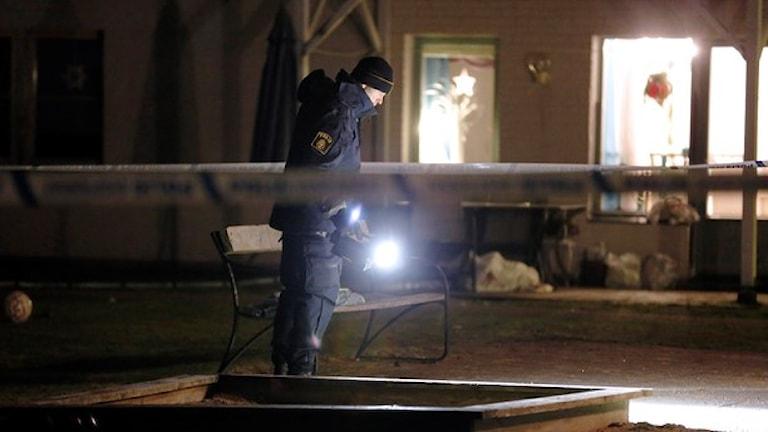 مكان إطلاق الشرطة النار على حامل السلاح الأبيض / TT