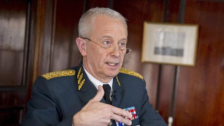 القائد العام للقوات المسلحة سفيركير يورانسون/ عدسة بيؤتيل إيركسون