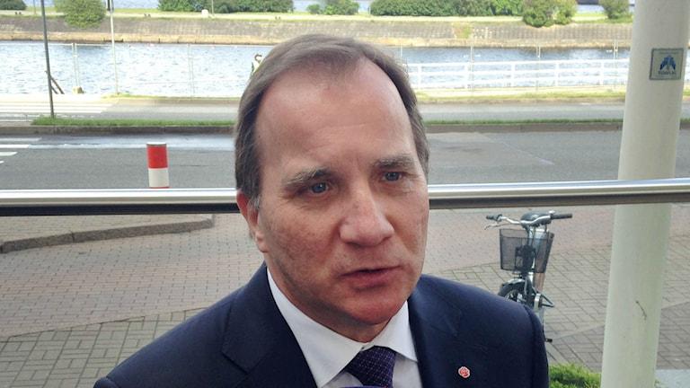 رئيس الوزراء السويدي ستيفان لوفين / صورة فيكتور نوميلين TT