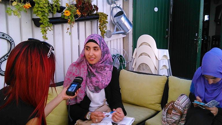 ريما قادر من جمعية مسلمي السويد للحرية والعدالة / صورة خاصة
