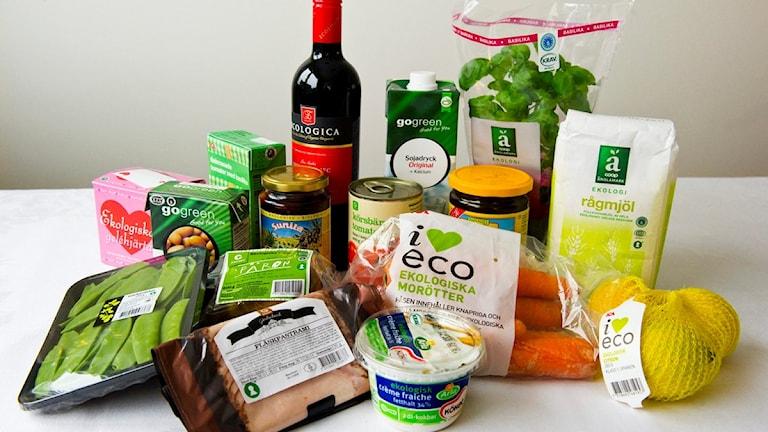 مواد غذائية إيكولوغية