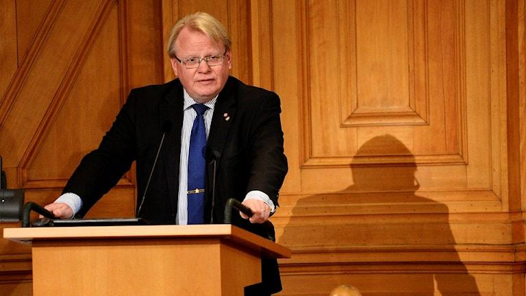 وزير الدفاع بيتر هولتكفست